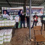 Calamba corn growers receive corn production inputs from DA-4A