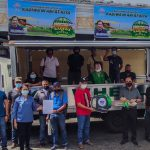 DA-4A grants farmer group in Quezon a wing van truck